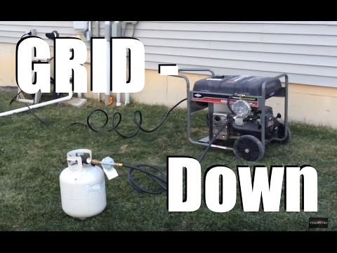 Power Outage from Recent Wind Storm - Going Off-Grid!