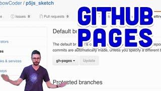 1.8: GitHub Pages - Git and GitHub for Poets