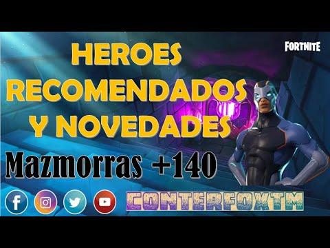 Heroes para Mazmorras +140 y Consejos sobre el Juego