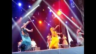 "Bollywood Masala Orchestra - ""Spirit of India"" Tour at the Stockholm Culture Festival (Part 2)"
