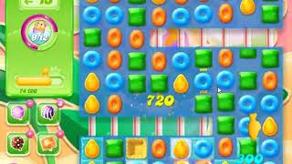 Candy Crush Jelly Saga Level 855 - NO BOOSTERS (CLOSER TO PAY2WIN-VERSION)