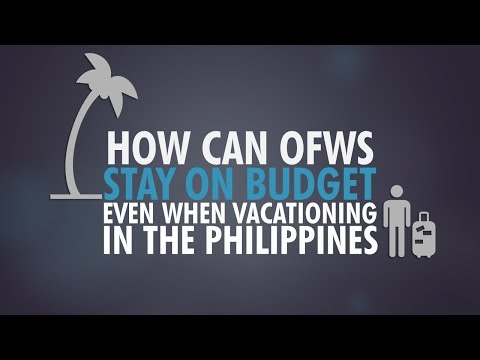 How Can OFWs Stay on Budget Even When Vacationing in the Philippines?
