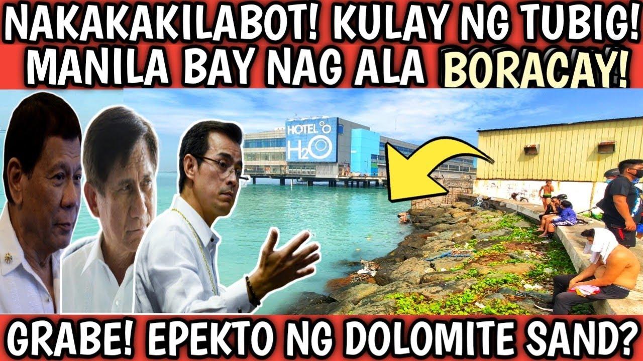 Download NAKAKAKILABOT ANG EPEKTO NG DOLOMITE! BIGLANG LUMINIS ANG DAGAT SA MANILA BAY?