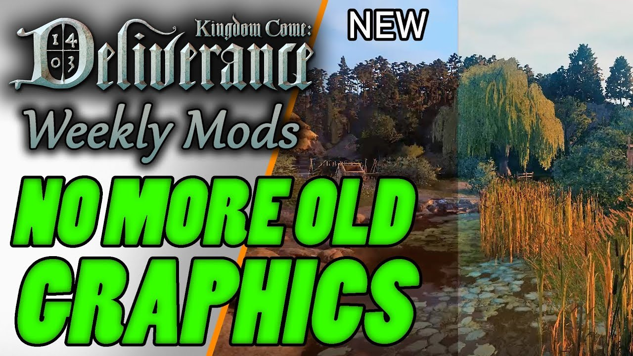 Kingdom Come Deliverance Best Mods - Week 2 - Beautiful Shaders, New Armor  & Better Lockpicking
