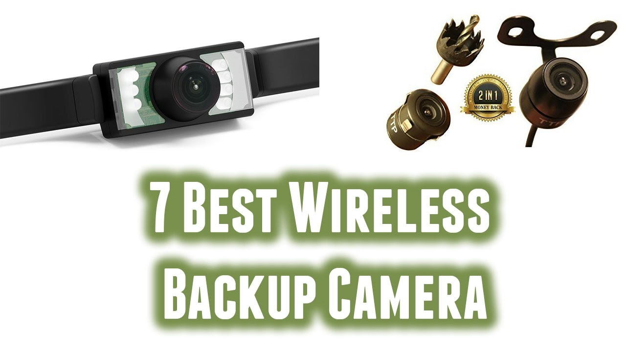 7 Best Wireless Backup Camera 2016 - YouTube