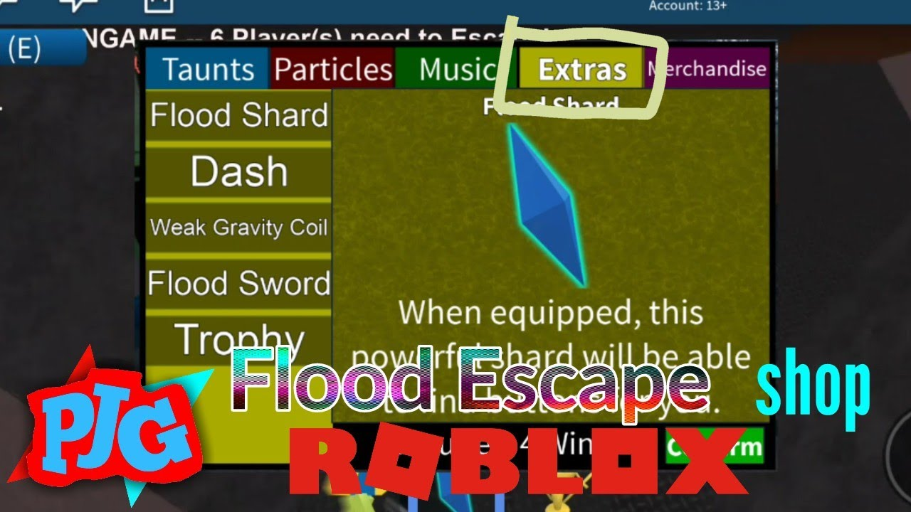 Roblox Flood Escape How To Use Dash Shop In Roblox Flood Escape Extras Projacup Youtube