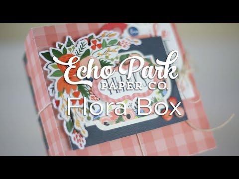Echo Park Paper Flora No. 2 Box