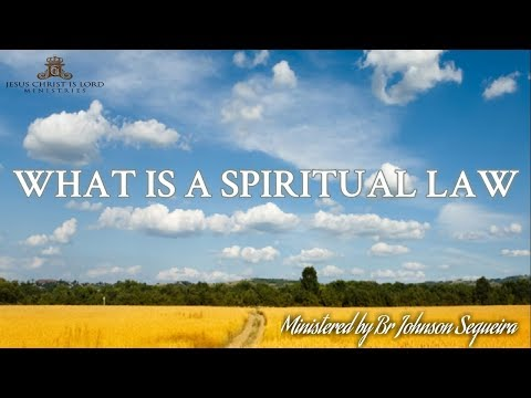 WHAT IS A SPIRITUAL LAW SHARJAH 8 FEBRUARY 2019