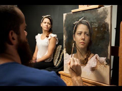 Secrets of Portrait Painting with Cesar Santos