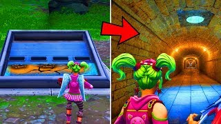 COMMENT RENTRER DANS LE BUNKER SECRET DE WAILING WOODS SUR FORTNITE BATTLE ROYALE !