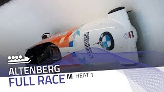 Altenberg | BMW IBSF World Cup 2018/2019 - 4-Man Bobsleigh Heat 1 | IBSF Official