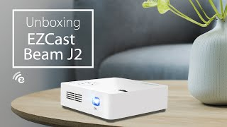 EZCast Beam J2 mini projector unboxing (2018)