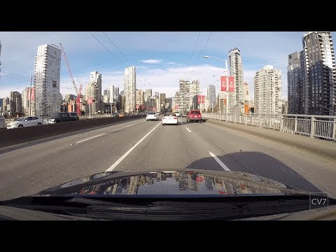 Granville Street / Seymour Street, Vancouver BC (Time Lapse)