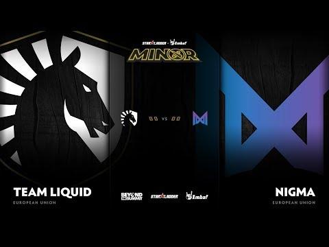 Team Liquid vs Nigma vod