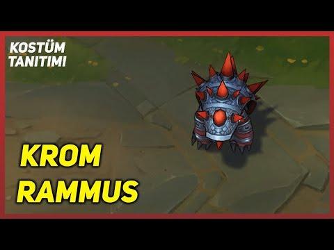 Krom Rammus (Kostüm Tanıtımı) League Of Legends