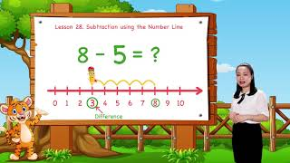 Math For Kids - Lesson 28. Subtraction Using the Number Line   Kindergarten Video