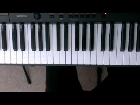 """""""F"""" Minor Scale On Piano - Piano Scale Lessons (Right and Left hand)"""