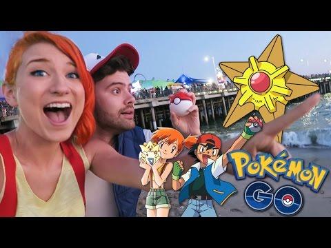 Pokemon GO - Ash & Misty at the Santa Monica Pier