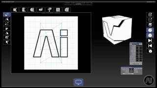 Ai v10 Canvas Editor Page
