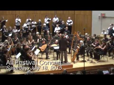 Highlights of 2015 Madison Early Music Festival (July 11-18)
