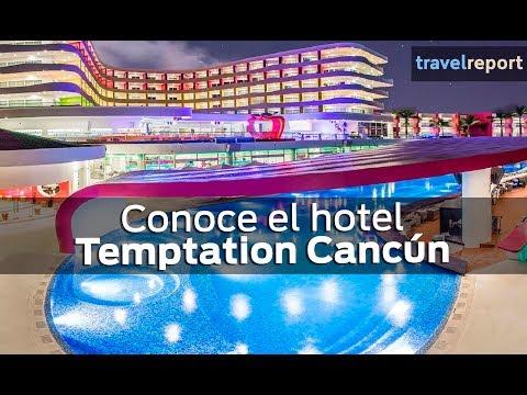 Conoce el hotel Temptation Cancún