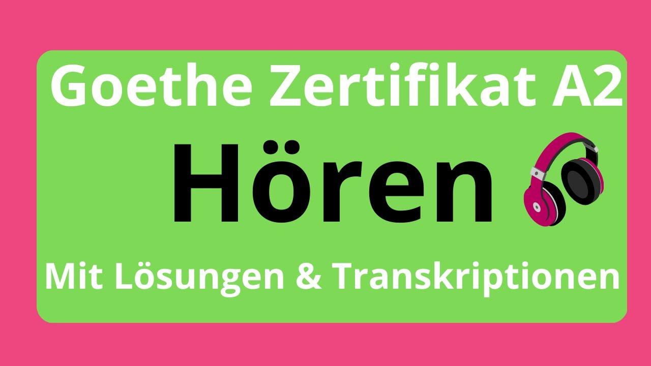 Cornelsen zertifikat lösungen prüfungstraining goethe a1 Prüfungstraining DaF