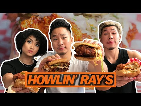 THE HOTTEST CHICKEN SANDWICH IN L.A. - Fung Bros Food