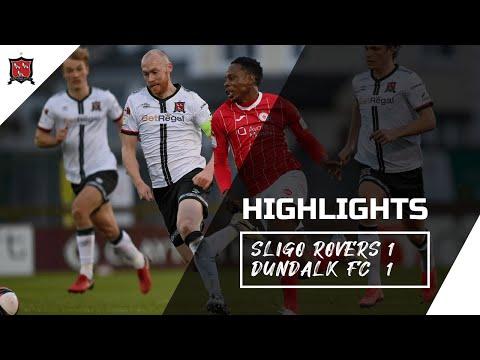 Highlights | Sligo Rovers 1-1 Dundalk FC