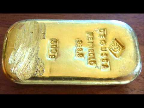 Gold Bar Found By Teenage Girl In German lake