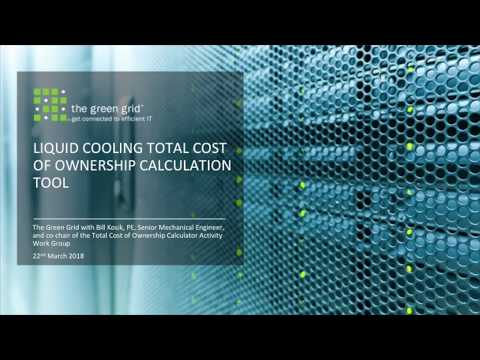 Liquid Cooling Total Cost of Ownership calculation tool