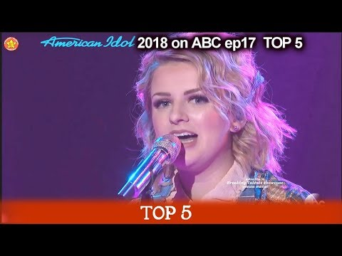 "Maddie Poppe sings ""God Only Knows"" For HER MOTHER  American Idol 2018 Top 5"