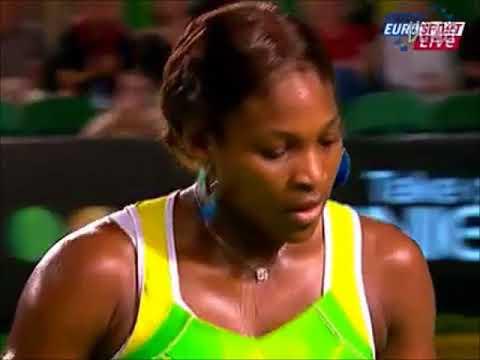 Serena Williams vs Jelena Jankovic 2007 AO Highlights