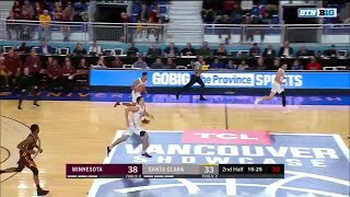 Highlights: Santa Clara vs. Minnesota | Big Ten Basketball