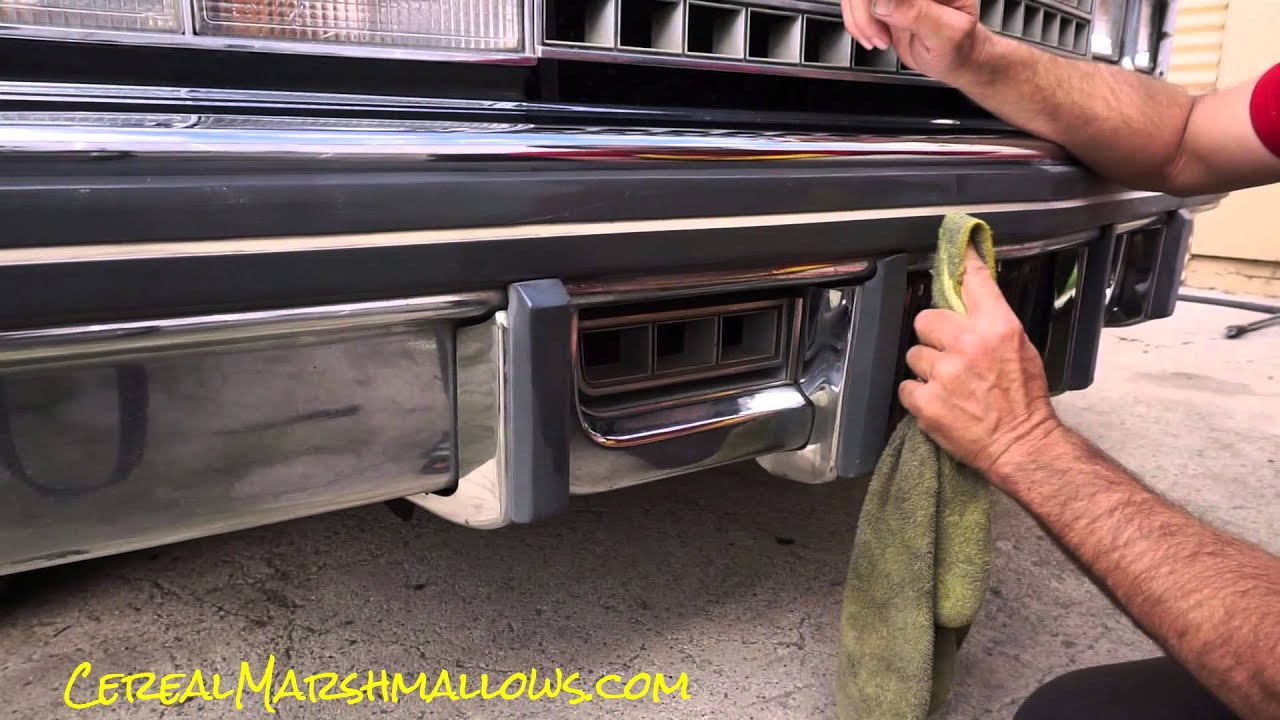 remove car wax from plastic trim