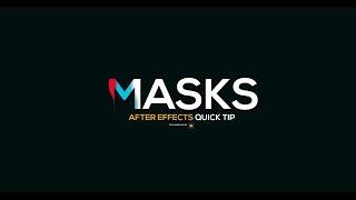 After Effects Quick - Tipp- Ebenenmasken
