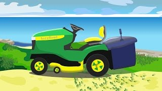 Monster Mower |  Budowa Kosiarki Dla Dzieci