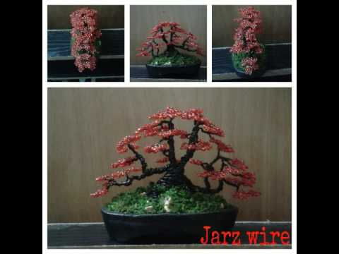 Bonsai Wire And Beads Youtube