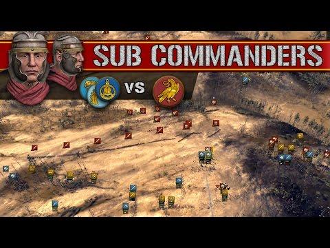 Viking Confederacy vs Western Roman Legion (Sub Commanders)