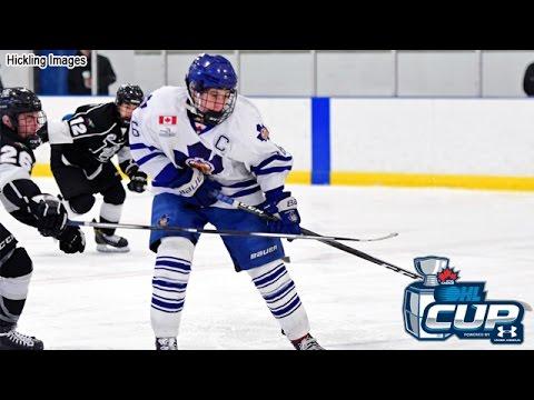 2017  OHL Cup   _____ '01  Toronto Marlboros (Jack Hughes #86)  vs  Thunder Bay Kings 4-2