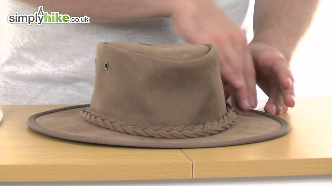 e061112bf75 Barmah Foldaway Bronco Hat - www.simplyhike.co.uk - YouTube