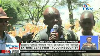 Ex-rustlers from West Pokot, Baringo, and Elgeyo Marakwet fight food insecurity.