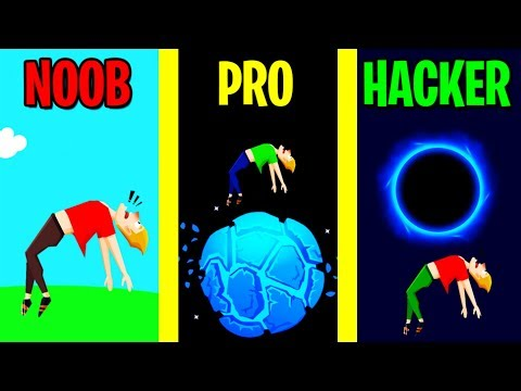 NOOB vs PRO vs HACKER in Buddy Toss!