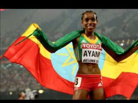 Almaz Ayana's 5000 exploit at beijing still sensational.