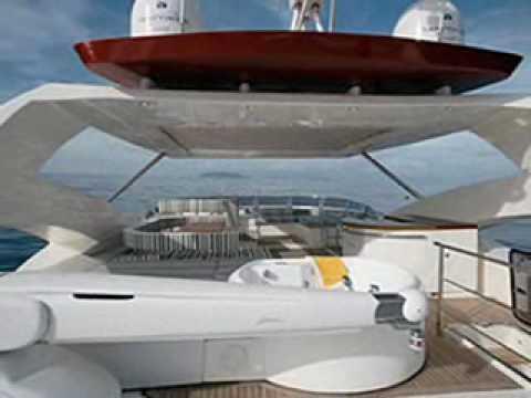 Charter Motor Yacht Aicon 90 in Greece.wmv