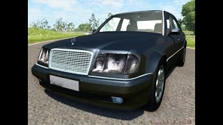 Mercedes Benz w124 chocs stress test