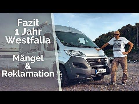 1 Jahr Westfalia Amundsen - Mängel & Reklamationen - Wohnmobil Langzeittest