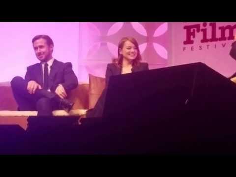 Ryan Gosling and Emma Stone at the Santa Barbara Film Festival