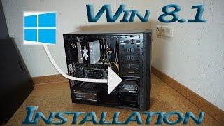 HOW TO | Win 8.1 mit USB-Stick installieren / neu aufsetzen