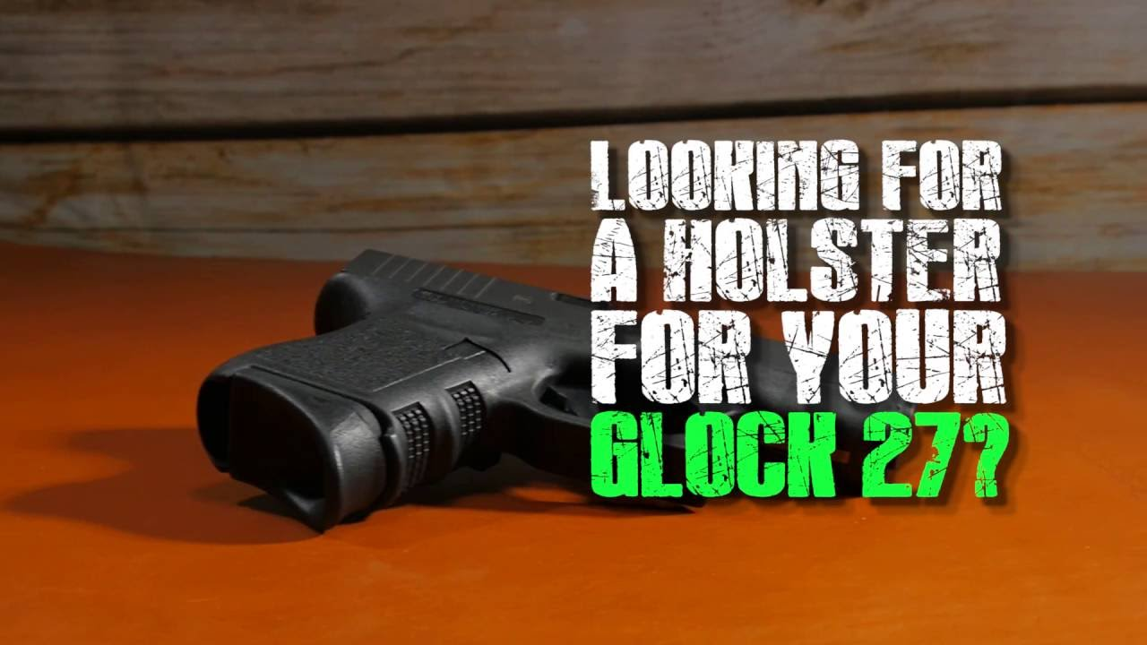 Vedder LightTuck - Glock 27 - Best Concealed Carry Holster - YouTube