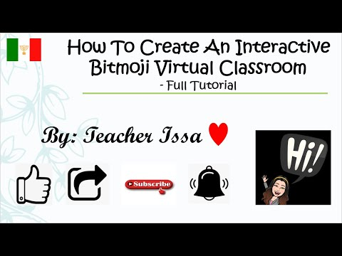 How To Create An Interactive Bitmoji Virtual Classroom| TAGALOG FULL TUTORIAL 2020